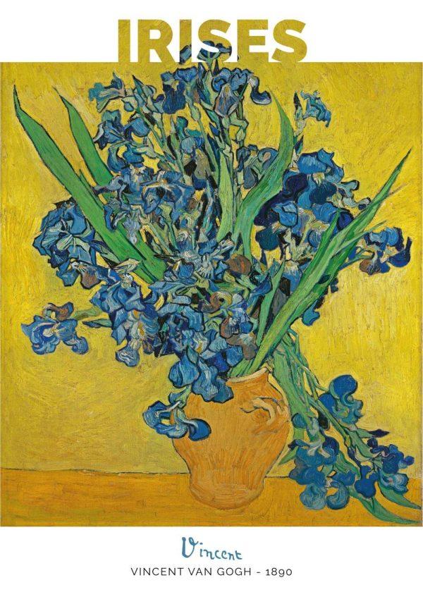 Blue Irises - Vincent Van Gogh