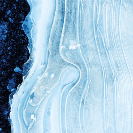 Blue ice plakat