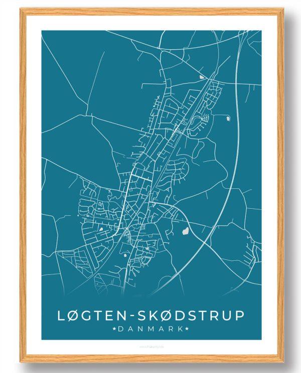 Løgten Skødstrup plakat - blå